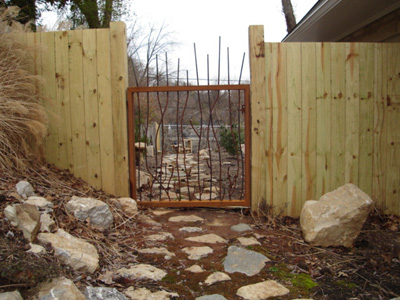 Wood fence and wood fence gate hardware - Wood Fence - Fence Traders